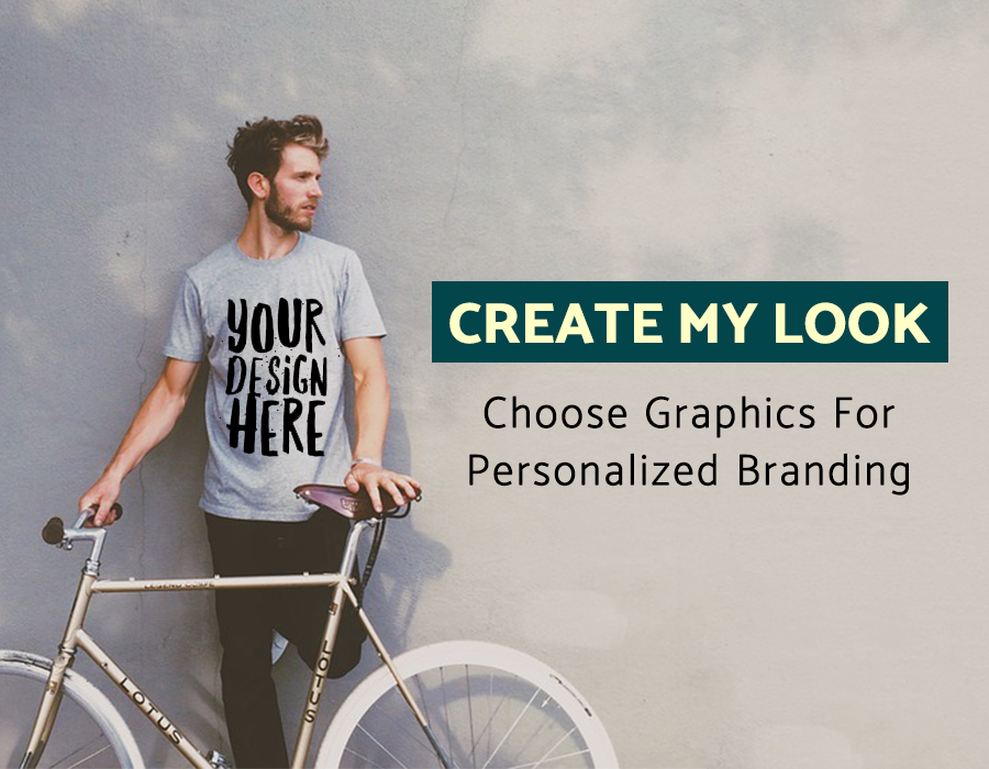 Choose personalized graphics for custom tees printing