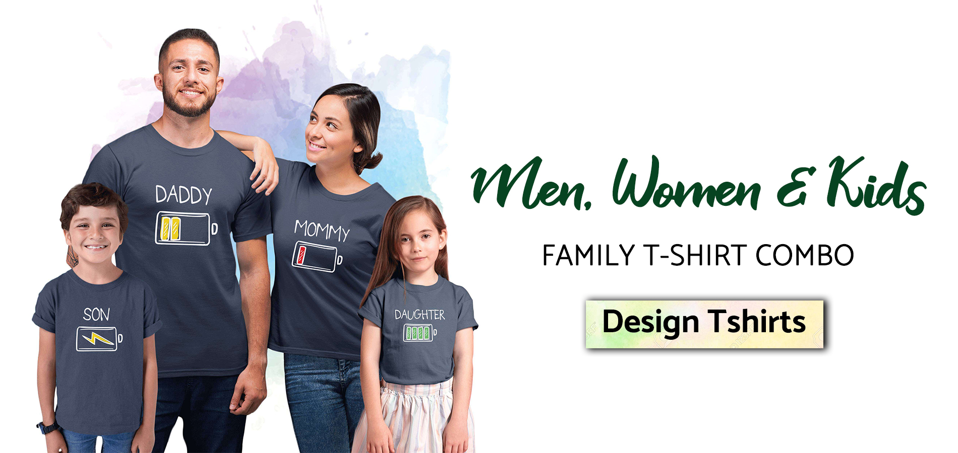 men women kids, Custom T-shirt printing